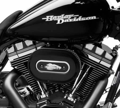 Harley-Davidson Burst Rocker Box Covers  - 25700251
