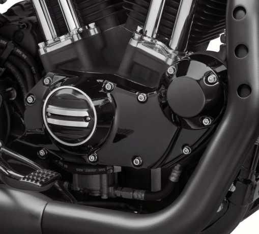 Harley-Davidson Getriebeabdeckung Rail schwarz  - 25700533