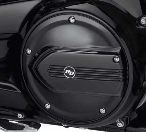 Harley-Davidson Defiance Derby Cover black  - 25700572