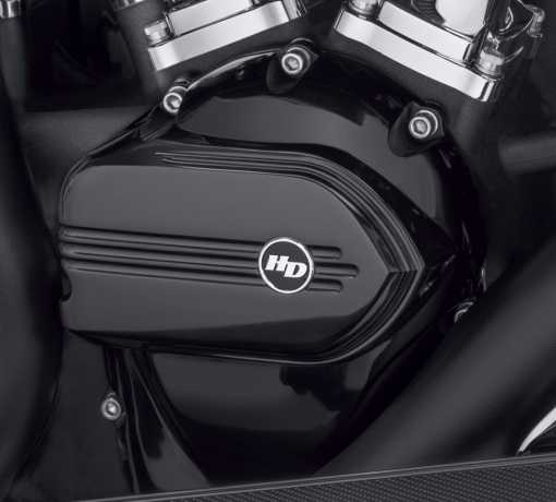 Harley-Davidson Defiance Nockenwellenabdeckung, schwarz  - 25700710