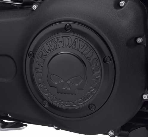 Harley-Davidson Derby Cover Willie G Skull black  - 25700742
