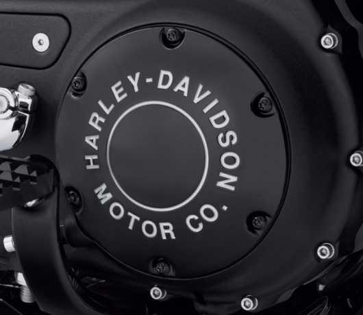 Harley-Davidson H-D Motor Co. Derby Cover black  - 25701021