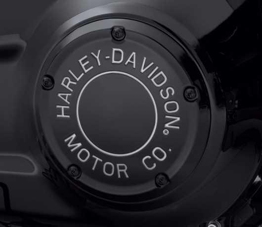Harley-Davidson H-D Motor Co. Derby Cover black  - 25701023