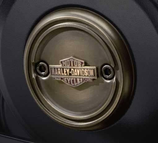 Harley-Davidson Brass Left Side Medallion  - 25800091
