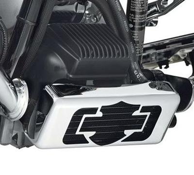 Harley-Davidson Premium Ölkühler-Kit zur horizontalen Montage  - 26082-05C