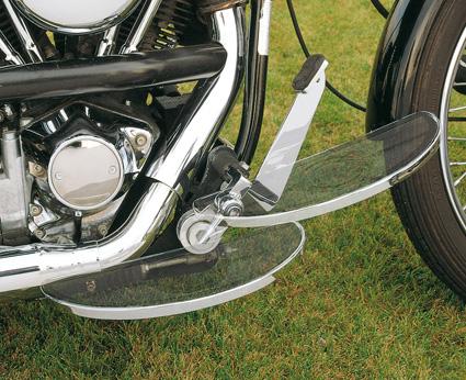 Custom Chrome Einstellbare Trittbretter Kit Shaker Oval chrom  - 26-569