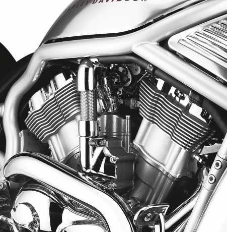 Harley-Davidson Stahlflex Kühlmittelleitung  - 26792-01