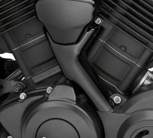 Harley-Davidson Coolant Hose Cover Kit gloss black  - 26900108