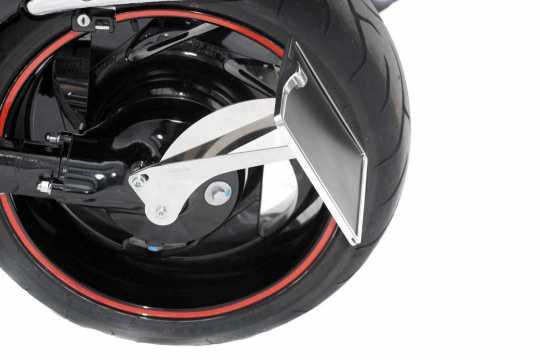 Thunderbike Seitlicher Kennzeichenhalter lang  - 28-00-033V