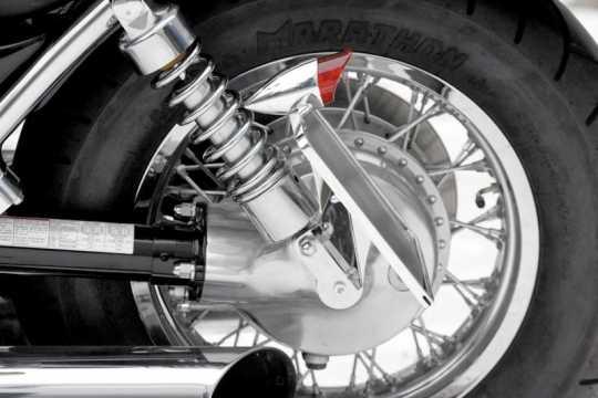 Thunderbike Seitlicher Kennzeichenhalter kurz poliert  - 28-09-020