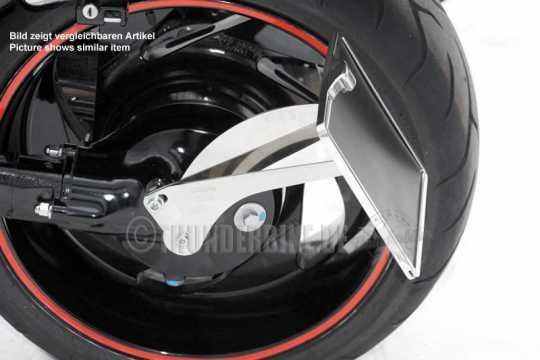 Thunderbike Seitlicher Kennzeichenhalter lang schwarz - 28-46-020
