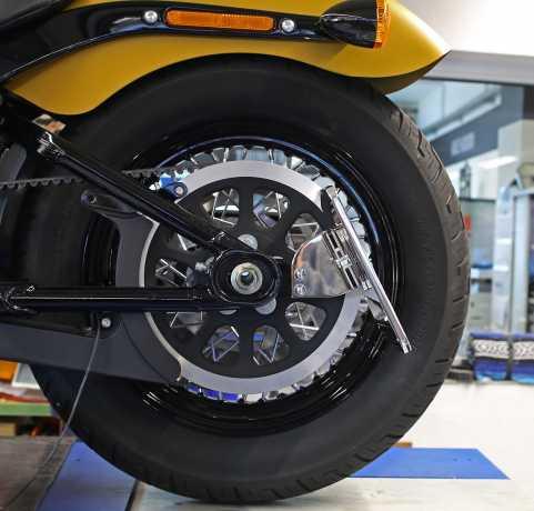 Thunderbike Side Mount Licence Bracket Kit short polished - 28-74-010