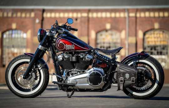 Thunderbike Seitlicher Kennzeichenhalter kurz  - 28-74-010V