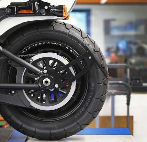 Thunderbike Seitlicher Kennzeichenhalter Lang schwarz matt  - 28-74-121