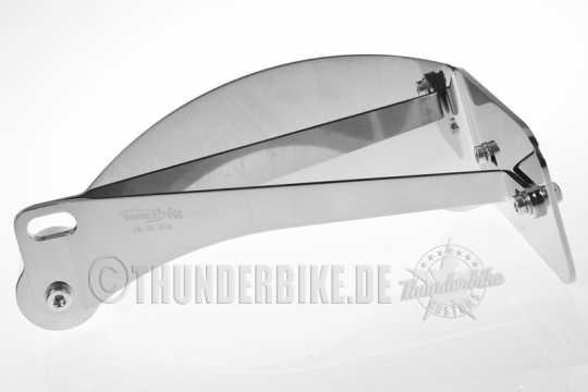 Thunderbike Seitlicher Kennzeichenhalter lang poliert - 28-76-012