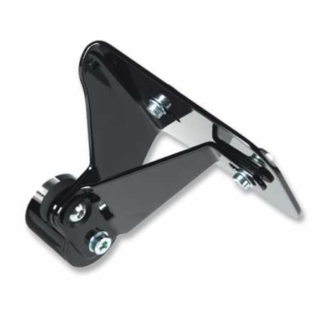 Thunderbike Side Mount Licence Plate Bracket short black - 28-76-063