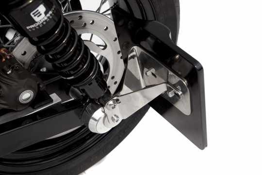 Thunderbike Seitlicher Kennzeichenhalter kurz  - 28-76-040V