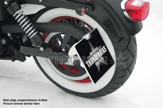 Thunderbike Seitlicher Kennzeichenhalter lang schwarz - 28-76-052