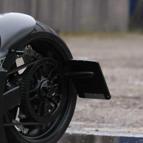 Thunderbike Seitlicher Kennzeichenhalter für Einarmschwinge  - 28-81-040