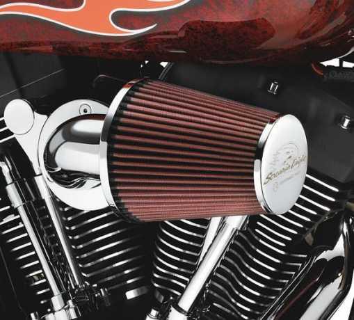 Harley-Davidson Screamin' Eagle Heavy Breather Performance Air Cleaner Kit chrome  - 29264-08