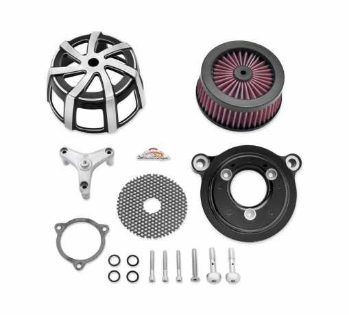 Harley-Davidson Screamin' Eagle Extreme Billet Air Cleaner Kit Agitator, cut back black  - 29400063
