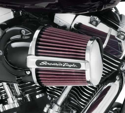 Harley-Davidson Screamin' Eagle Heavy Breather Elite Performance Luftfilter Kit, schwarz  - 29400172