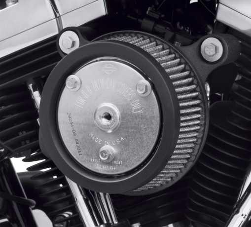 Harley-Davidson Screamin' Eagle Stage I Luftfilter Kit schwarz  - 29400233