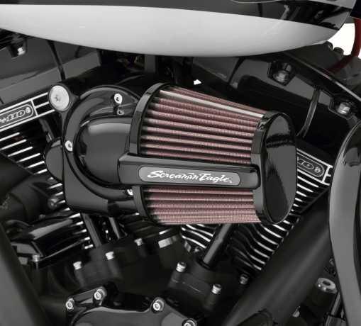 Harley-Davidson Screamin' Eagle Heavy Breather Elite Performance Air Cleaner Kit 58mm black  - 29400285