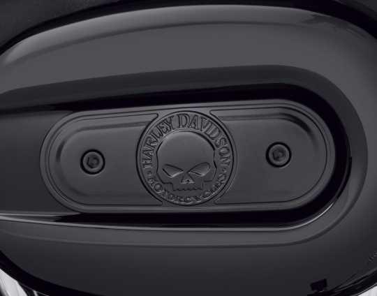 Harley-Davidson Luftfilter-Zierblende Willie G Skull schwarz  - 29400341