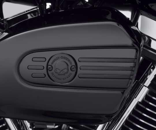 Harley-Davidson Luftfilter-Zierblende Willie G Skull schwarz  - 29400345