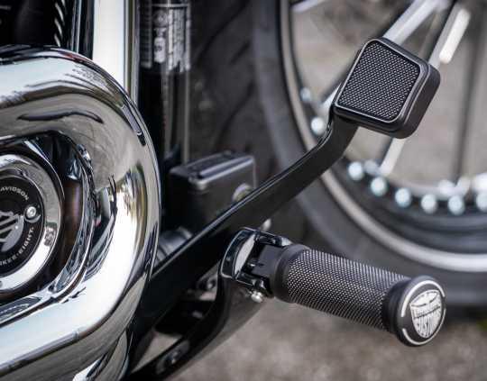 Thunderbike Brake Pedal Pad Satin black cut  - 31-74-150