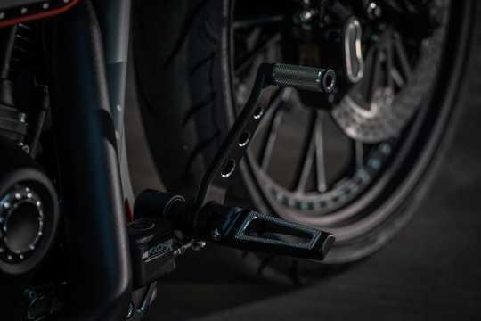 Thunderbike Fußrastenanlage Grand Prix schwarz  - 31-74-180