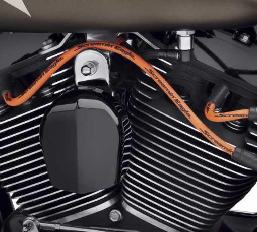 Harley-Davidson Screamin' Eagle 10mm Phat Spark Plug Wires orange  - 31600113