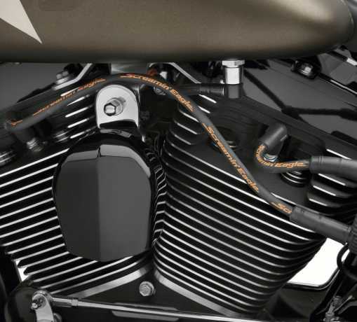 Harley-Davidson Screamin' Eagle 10mm Phat Zündkerzenkabel Set schwarz  - 31901-08A