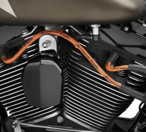 Harley-Davidson Screamin' Eagle 10mm Phat Spark Plug Wires orange  - 31956-04B