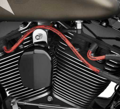 Harley-Davidson Screamin' Eagle 10mm Phat Zündkerzenkabel Set rot  - 32318-08A