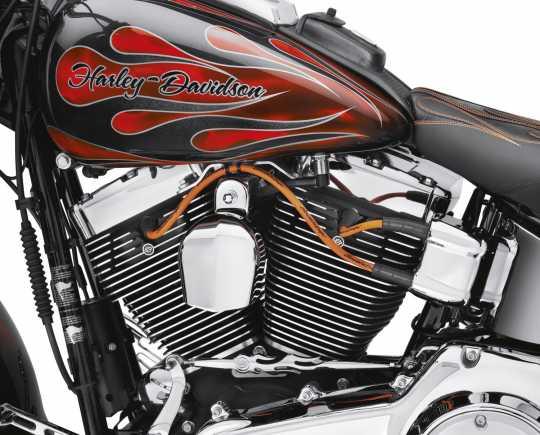 Harley-Davidson Screamin' Eagle 10mm Phat Zündkerzenkabel orange  - 32360-00C