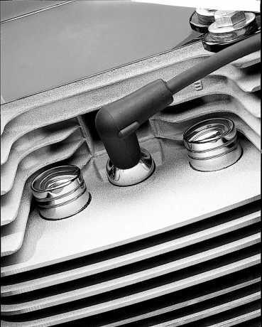 Harley-Davidson Classic Chrome Spark Plug Cover  - 32747-99