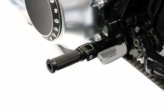 Thunderbike Soziusrasten- Set Rubber schwarz - 33-73-130