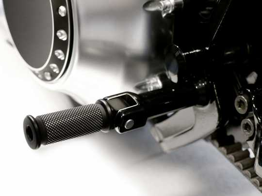 Thunderbike Soziusrasten-Set Satin  - 33-74-030