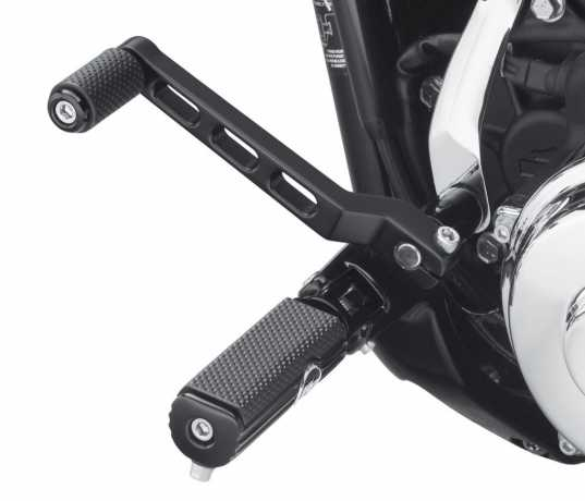 Harley-Davidson Billet Style Schalthebel, matt schwarz  - 33600168