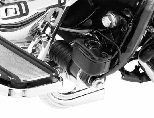 Harley-Davidson Rider Footboard Brackets, chrome  - 33698-07