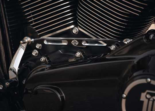 Harley-Davidson Custom-Schaltgestänge Slotted, schwarz  - 34018-08
