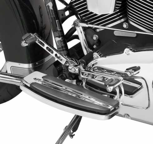 Harley-Davidson Billet Style Heel/Toe Shift Lever, sandard length chrome  - 34535-00B