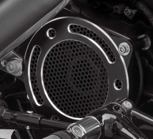 Harley-Davidson Rail Collection Transmission Sprocket Cover black  - 34800032
