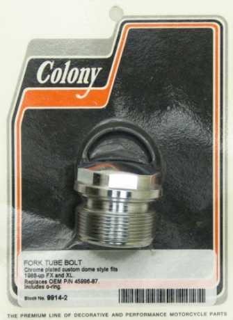 Colony Colony Standrohr-Verschlussschraube chrom  - 35-162