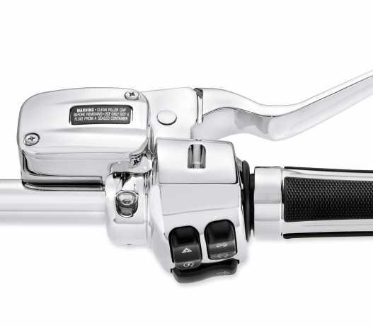 Harley-Davidson Clutch Bracket & Master Cylinder Reservoir Kit, chrome  - 36700100