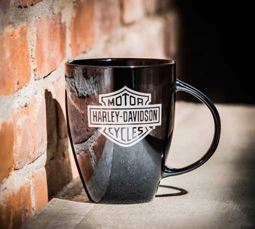 H-D Motorclothes Harley-Davidson Lustre Mug Shiny Black  - 3BLM4900