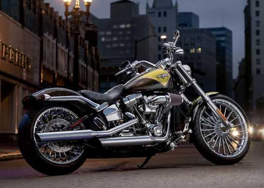 "Harley-Davidson Turbine Custom Rad 8.0x18"" hinten, chrom  - 40900057A"