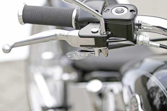 Thunderbike Blinkerhalter Mini für Kellermann schwarz | H-D - 41-70-090